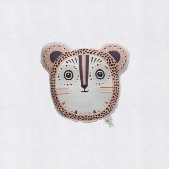 Billy Bear Cushion In Rose Design By Ferm Living