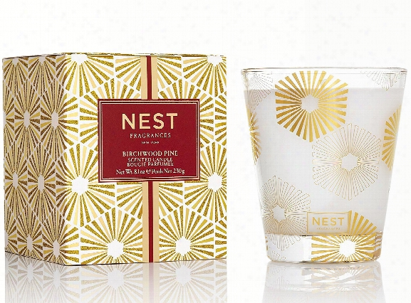 Birchwood Pine Classic Candle Design By Nest Fragrances