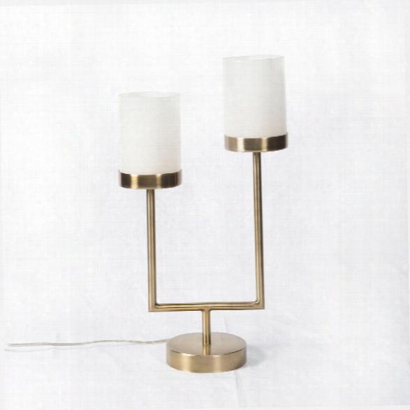 Blair Desk Lamp In Antique Brass