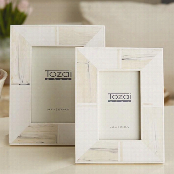 Blanc D'voir Photo Frames In Various Sizes Design By Tozai