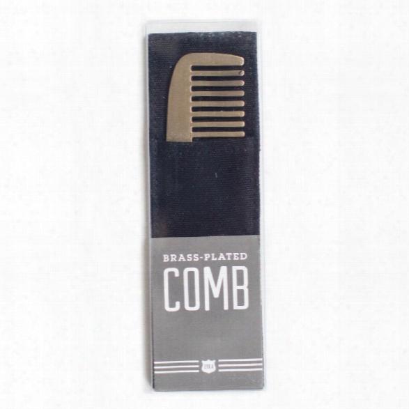 Blank Brass Comb Design By Izola