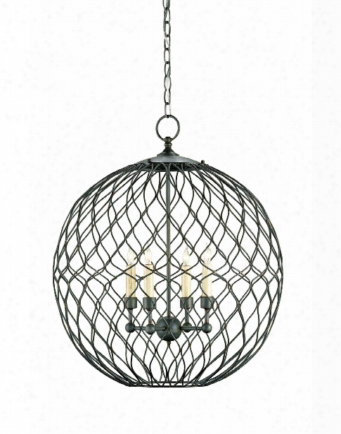 Small Simpatico Orb Chandelier Design By Currey & Company