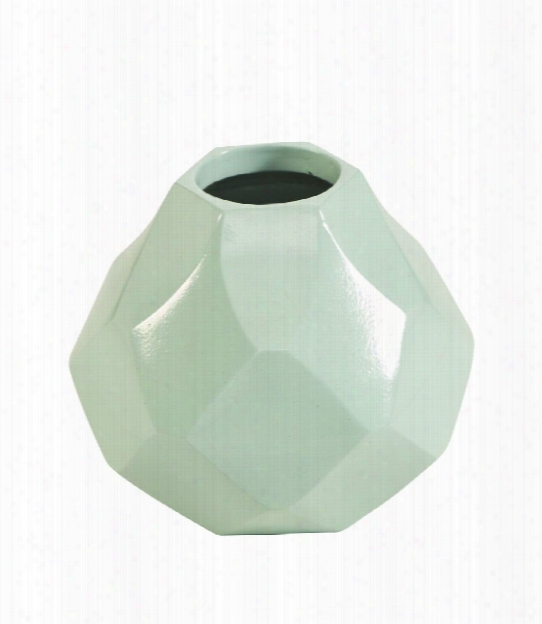 Small Sydney Mod Diamonds Husky Vase Designed By Florence Broadhurst