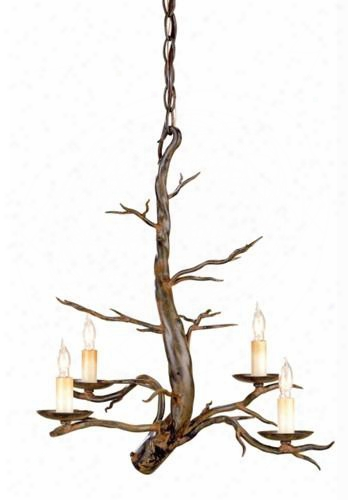 Small Treetop Chandelier Design By Currey & Company