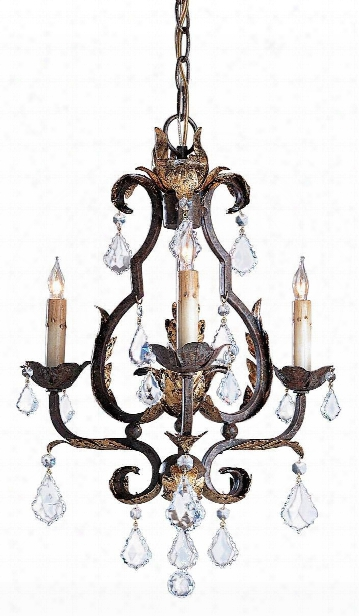 Small Tuscan Chandelier Design By Currey & Company