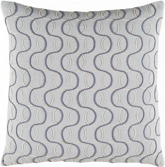 Solid Bold Ii Pillow In Charcoal & Cream Design By Bobby Berk