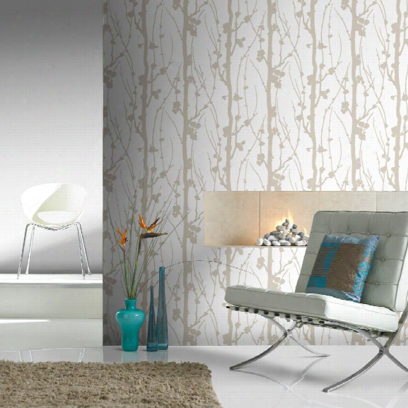 Solitude Glitter Wallpaper In Gold Frmo The Elegance Collection By Graham & Brown