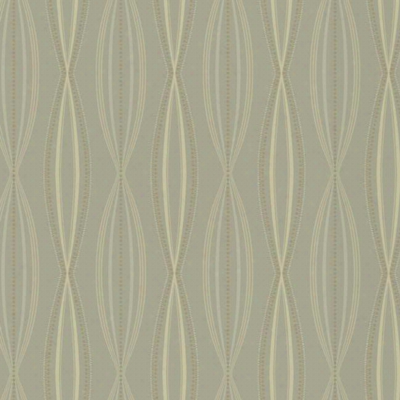 Sonnet Wallpaper In Silver By Candice Olson For York Wallcoverings