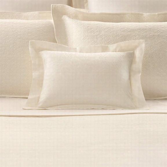 Sophia Ivory Decorative Pillow Design By Luxe