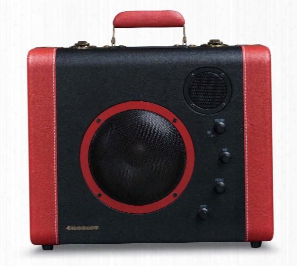 Soundbomb Speaker System In Black & Red Design By Crosley