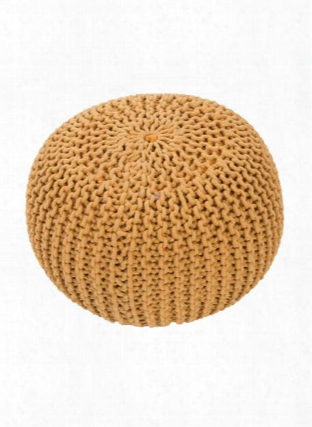 Spectrum Pouf In Corn Silk Design By Jaipur