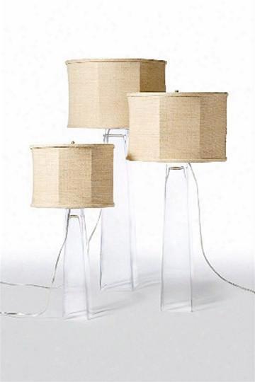 Square Glass Lamps Design By Barbara Cosgrove