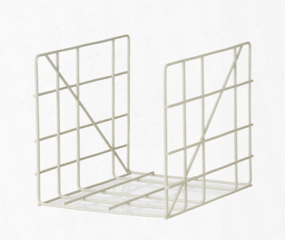 Square Magazine Holder In Grey Design By Ferm Living