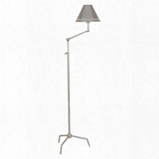 St Germain Floor Lamp In Polished Nickel Design By Jonathan  Adler