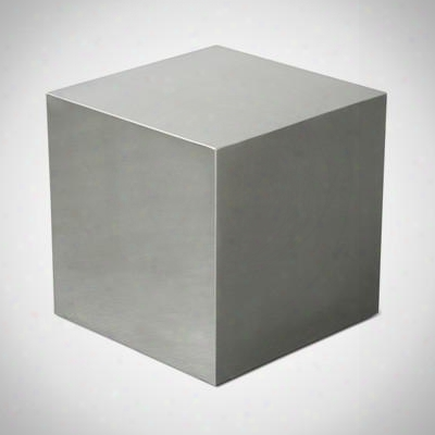 Stainless Steel Cube Design By Gus Modern