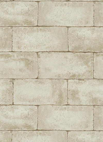 Stone Wall Wallpaper In Beige And Brown Edsign By Bd Wall