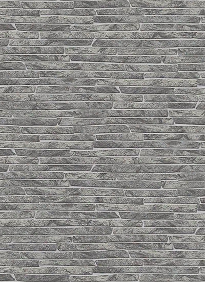 Stone Wall Wallpaper In Grey And Black Design By Bd Wall
