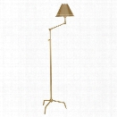 St Germain Floor Lamp in Polished Brass design by Jonathan Adler