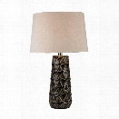 Stacked Brown Pedals Table Lamp design by Lazy Susan