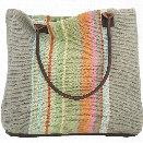 Stone Soup Woven Cotton Tote Bag by Dash Albert
