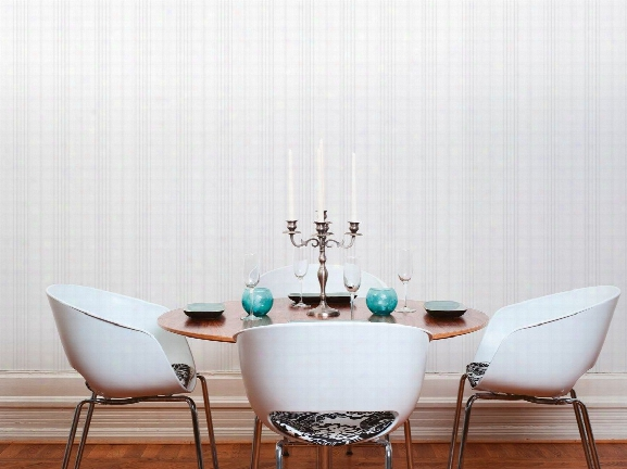 Striped Wallpaper In Grey And White Design By Bd Wall