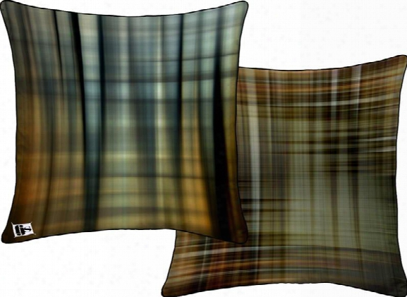 Stripes & Plaid Two Sided Pillow Design By Fjs