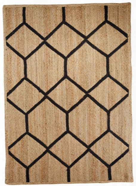 Subra Rug In Almond Buff Design By Nikki Chu