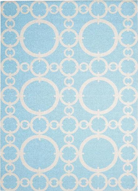 Sun N' Shade Rug In Aquamarine Design By Nourison
