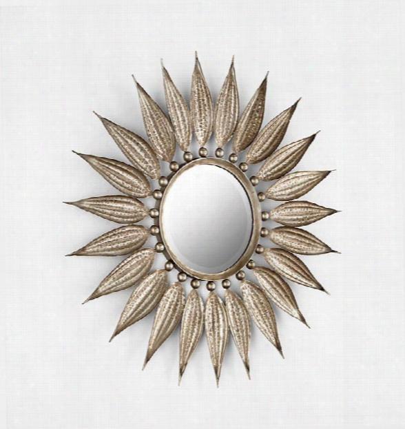 Sunflower Reflections Mirror Design By Cyan Design