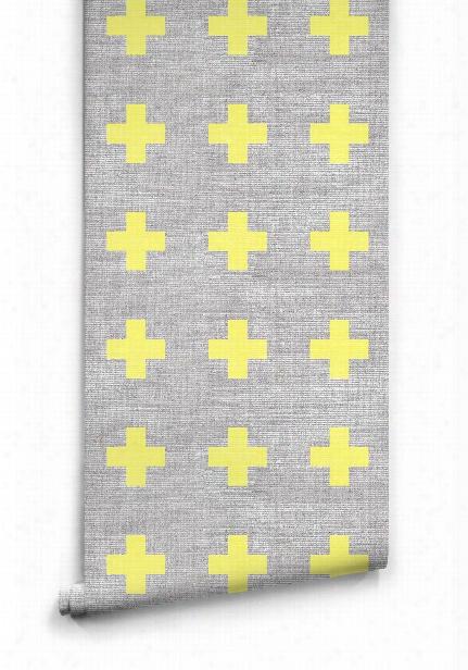 Swiss Linen Wallpaper By Ingrid + Mika For Milton & King
