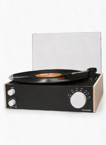 Switch Turntable In Natural Design By Crosley