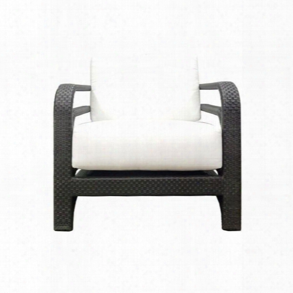 Synthetic/outdoors Reo Lounge Chair In Espresso Design By Selamat