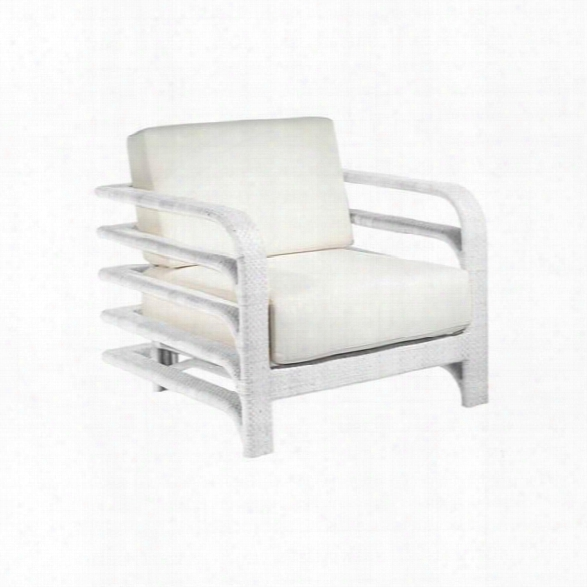 Synthetic/outdoors Reo Lounge Chair In White Design By Selamat