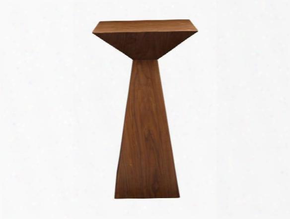 Tad-b Bar Table In American Walnut Design By Euro Style