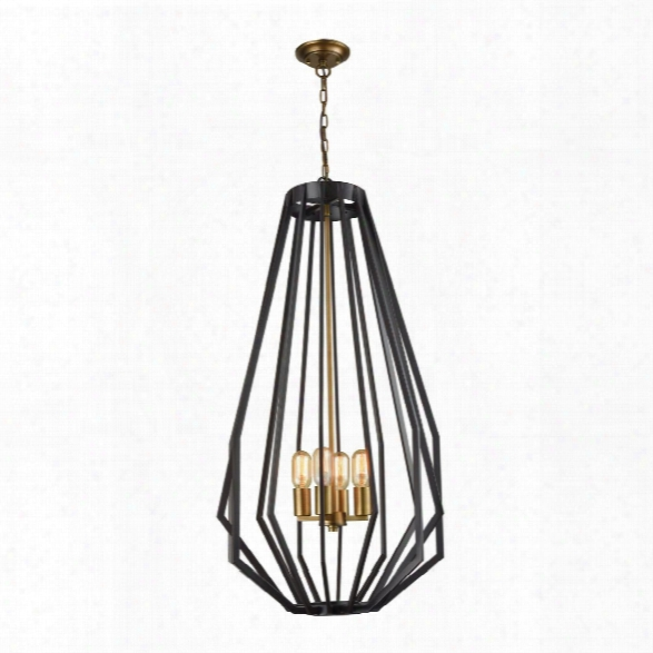 Tall Fluxx Chandelier Design By Lazy Susan