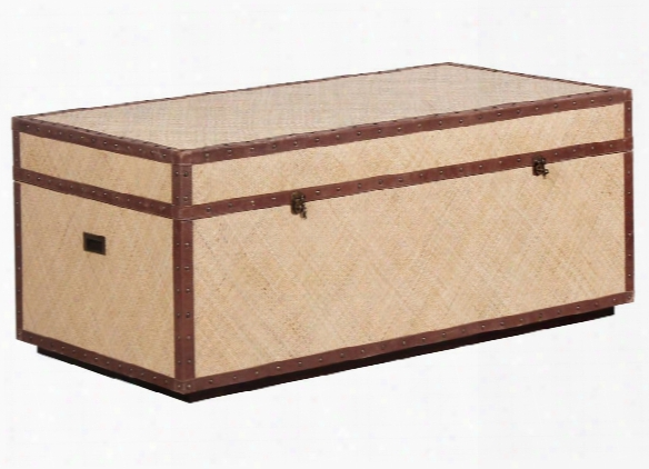 Tanzania Bed-end Trunk W/ Brass Hardware Design By Selamat