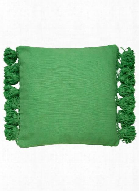 Tassel Yorkville Pillow In Picnic Green Design By Kate Spade