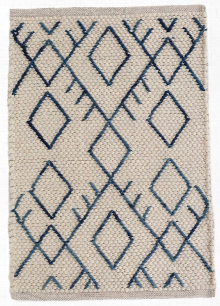 Teca Ivory Woven Wool Rug Design By Dash & Albert