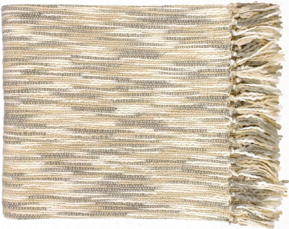 Teegan Throw Blankets In Khaki Color By Surya