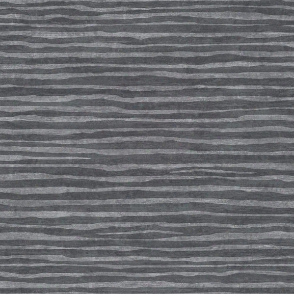 Terra Nova Horizontal Texture Wallpaper In Dark Charcoal And Pewter By York Wallcoverings