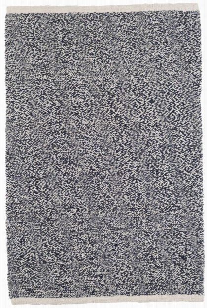 Terry Indigo Woven Cotton Rug By Dash Albert