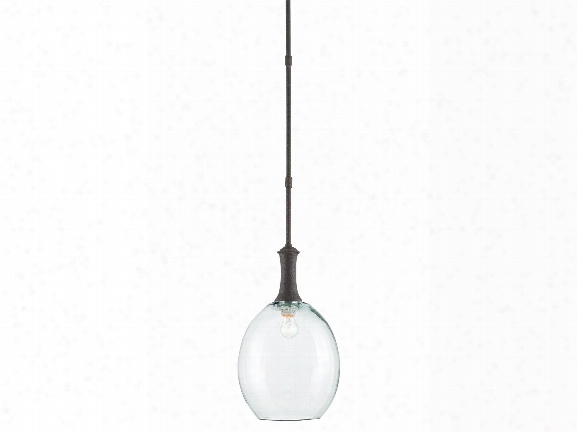 Theo Pendant In Molã© Black Design By Currey & Company