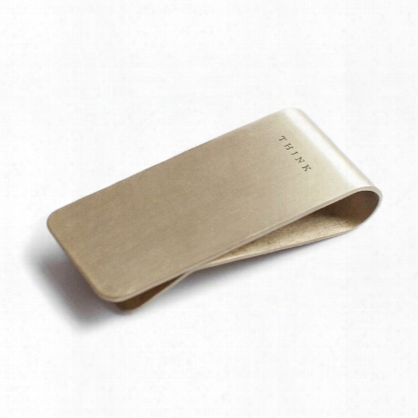 Think Money Clip Design By Izola