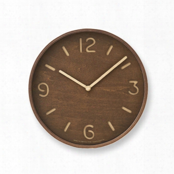 Thompson Wall Clock Design By Lemnos