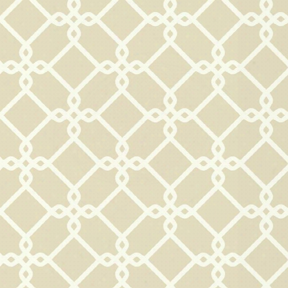 Threaded Links Wallpaper In Beige Design By York Wallcoverings