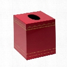 Tartier Tissue Box in Red design by Bungalow 5