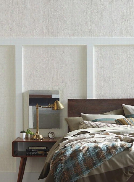 Timber Wallpaper In White From The Ashford Whites Collectio N By York Wallcoverings