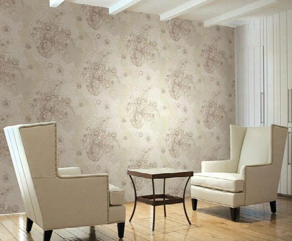 Blenheim Wallpaper In Off White And Neutrals By Carl Robinson For Seabrook Wallcoverings