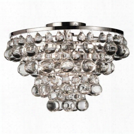 Bling Collection Flush Mount Chandelier Design By Jonathan Adler