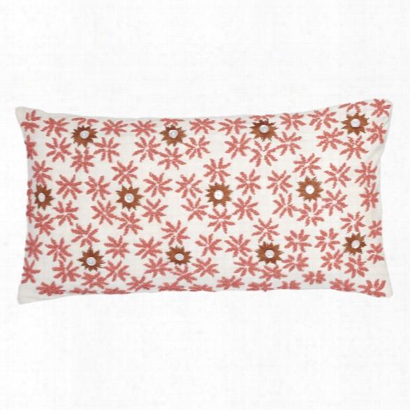 Blossom Peach Pillow Design By Allem Studio